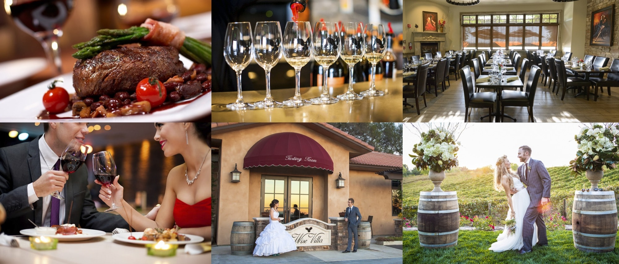 Placer Wine Trail Wise Villa Winery Amp Bistro Placer