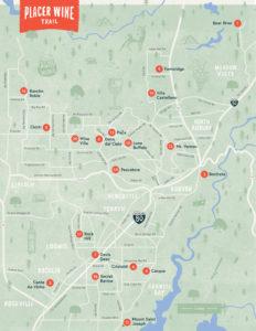 Placer Wine Trail - Trail Map | Placer Wine Trail
