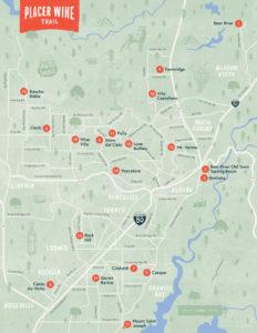 Placer Wine Trail - Trail Map   Placer Wine Trail